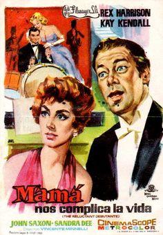 LAS PELÍCULAS QUE YO VEO: una página de cine: MAMÁ NOS COMPLICA LA VIDA (The Reluctant Debutante, 1958), de Vincente Minnelli