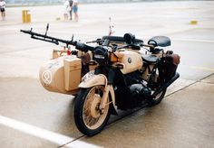 BMW WWII; those old beamers are built like tanks
