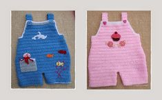 Baby Dungaree Pattern