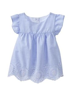 Gap | Eyelet flutter-sleeve top. Getting this for spring!