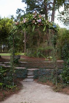 Rustic Romantic Ceremony Arch | Ava Moore Photography https://www.theknot.com/marketplace/ava-moore-photography-charleston-sc-626299