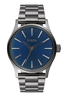 Men's Wrist Watches - Nixon Mens A4502065 Sentry 38 SS Analog Display Analog Quartz Watch ** Click image to review more details. (This is an Amazon affiliate link)