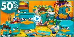 Phineas and Ferb Party Supplies - Party City