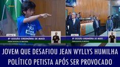 Jovem que desafiou Jean Wyllys humilha político petista após ser provocado