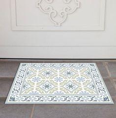 PVC Door Mat, Welcome Mat, Tile rug , Dog Rug, Pets mat, Comfort mat, Housewarming , 212