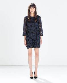 Image 1 of LACE JUMPSUIT from Zara