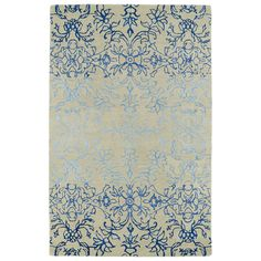 Hand-Tufted Ombre Linen Colored Rug (2' x 3')