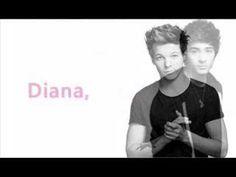 One Direction - Diana (Lyrics)