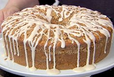 Ina's Sour Cream Coffee Cake