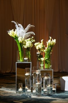 Flowers for the ceremony.  By Edmonson Photography.