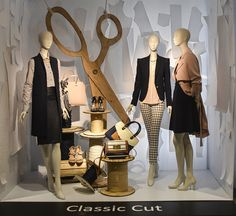 Classic Cut. Redefining Design 2015. Visual Merchandising Arts, School of Fashion at Seneca College.