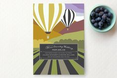 Away Save the Date Cards by Griffinbell Studio   Minted