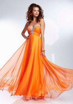 Beaded Chiffon Gown Bridesmaids Dresses(HM0466)