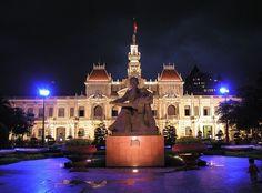 Love Ho Chi Mihn City. So beautiful.