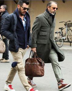 Milan Street Style, Pitti Uomo, Men's Fall Winter Fashion.