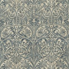 The Original Morris & Co - Arts and crafts, fabrics and wallpaper designs by William Morris & Company | Products | British/UK Fabrics and Wallpapers | Bluebell (DM6F220329) | Archive Prints. #morris #design