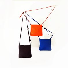Klara bags / leatherbag / accessories / rainbow / berlin / handmade / colorfull