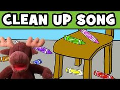 Clean Up Song for Kids - YouTube