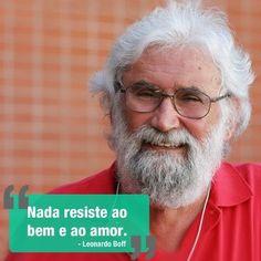 Por Dentro... em Rosa: Amo Leonardo Boff !