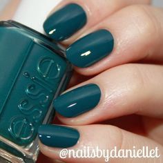 Essie Go Overboard Swatch   Two coats and taken in a light box  Museum of Nail Art