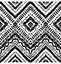 Hand drawn painted seamless pattern vector 4390248 - by Kannaa on VectorStock®