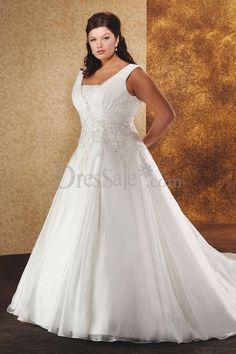 Vintage Formal Wedding Dress in the Ball Gown Style with Delicate Jacquard Detail and Chic Pleats Detail