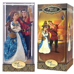 Disney Fairytale Designer Collection Series 2 - Belle & Gaston available 9-20-16 Disney Store