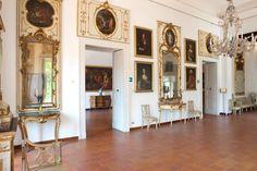 Sala degli specchi, Museo Correale, Sorrento, Italy