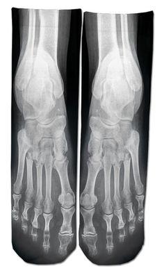 X-Ray Ankle Socks