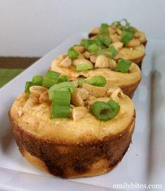 Emily Bites - Weight Watchers Friendly Recipes: Thai Chicken Biscuit Cups