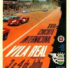 Cartaz do Circuito de Vila Real de 1971