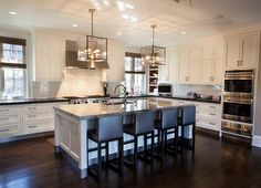 Kitchen Lighting Ideas. Kitchen Island Lighting #KitchenLighting #KitchenIslandLighting  John Johnstone.