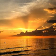 Sunset, Marco Island, Florida. Photo courtesy of mrees1428 on Instagram.