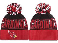 1f65d3a3a90c 2017 Winter NFL Fashion Beanie Sports Fans Knit hat Cardinals Hat