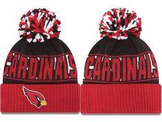 9341887b610 2017 Winter NFL Fashion Beanie Sports Fans Knit hat Cardinals Hat