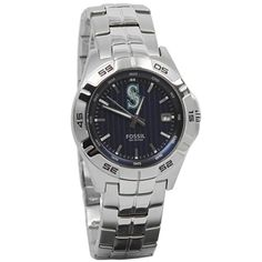 Fossil Seattle Mariners Team Logo Watch