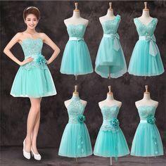 8a063d9a8 color blanco y azul electrico en vestido corto - Buscar con Google Vestidos  Color Azul