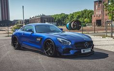 Prior-Design with Wide-Body Conversion for Mercedes-Benz GT S