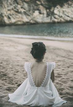claudia llagostera vestidos novia boho wedding dress bohemio blog bodas original…