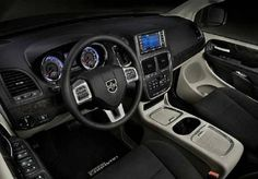 #2016_Dodge_Grand_Caravan Minivan's interior has some fine finishes set in it. The update that has been made in 2011 is still pretty much present here.