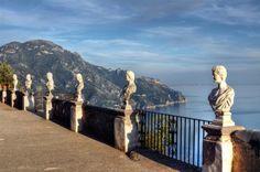 Villa Cimbrone Terrace, Ravello, Amalfi Coast loved this place Ravello Italy, Amalfi Coast Italy, Great Places, Places To See, Beautiful Places, Sorrento, Positano, Places In Italy, Italian Villa