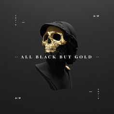 All black but gold by Andre Larcev
