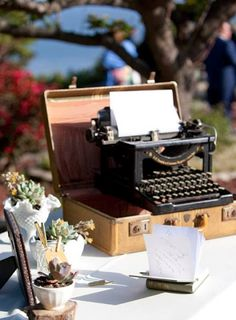 Wonderful pictures of a well done vintage themed wedding