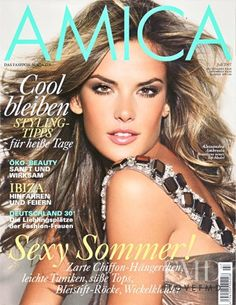 Alessandra Ambrosio featured on the AMICA Germany cover from July 2007  Brazilian Supermodel 1c6075dad3