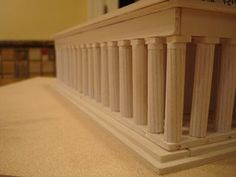 The Parthenon Athens Greece Model - Instructables Parthenon Athens, Architectural Columns, Athens Greece, My House, Model, School Projects, Art Projects, School Stuff, Temple