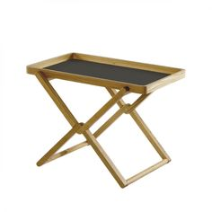 Folding Coffee Table With Tray   Oak Wood By Caon Arreda  LOVEThESIGN