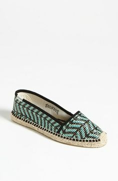 Soludos 'Raffia' Flat...they are so cute