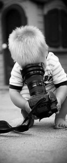 I bet this is what my boys want to do with my camera ;)