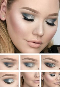 Glitter is the New Black - - The Too Faced Power of Makeup by NikkieTutorials - Get the look - #toofaced