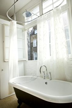 free standing bath decorating ideas - Google Search